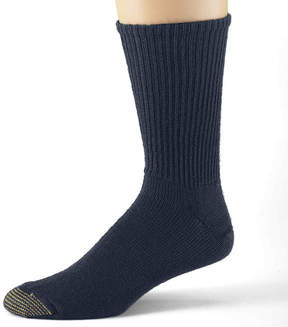 Gold Toe 3-pk. Casual Cotton Fluffies Crew Socks