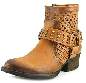 Very Volatile Mitch Women Round Toe Leather Combat Boot.