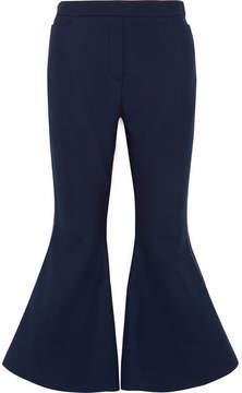 Ellery Cantina Crepe Flared Pants - Navy