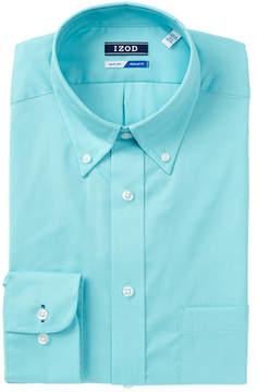 Izod Pinpoint Regular Fit Dress Shirt