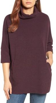 Caslon Women's Zip Back Pullover