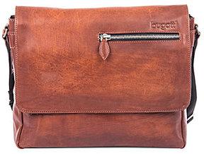 Bugatti Domus Genuine Leather Messenger Bag