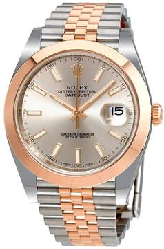 Rolex Datejust 41 Sundust Dial Steel and 18K Everose Gold Automatic Men's Watch
