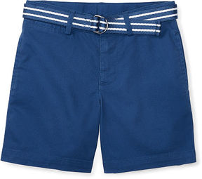 Ralph Lauren Boys 2-7 Belted Stretch Cotton Short