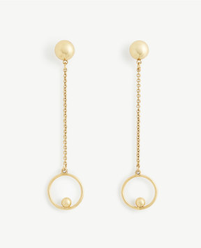Ann Taylor Ball Drop Earrings