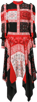 Alexander McQueen patchwork dress