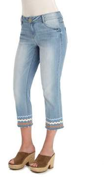 Democracy Flex-ellent Girlfriend Crop Jeans