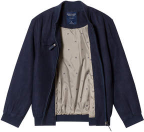 Mayoral Navy Suedette Bomber Jacket