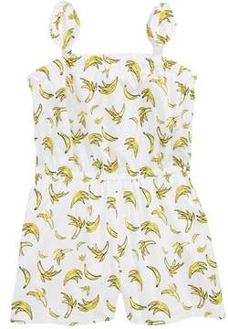 Milly Minis Banana Tie Romper