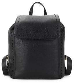 Cole Haan Ivy Pic Stitch Leather Backpack