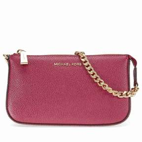 Michael Kors Medium Jet Set Chain Wallet- Mulberry - MULBERRY - STYLE
