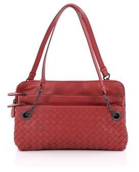 Bottega Veneta Pre-owned: Compartment Chain Shoulder Bag Intrecciato Nappa Medium.