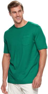 Croft & Barrow Big & Tall Classic-Fit Easy-Care Interlock Tee