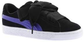 Puma Girls' Suede Heart Jr. Sneaker