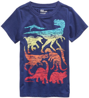 Epic Threads Dino-Print T-Shirt, Toddler Boys (2T-5T), Created for Macy's