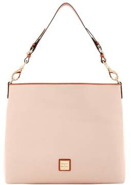 Dooney & Bourke Pebble Grain Extra Large Courtney Sac Shoulder Bag - BLUSH - STYLE