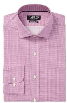 Lauren Ralph Lauren Slim-Fit Basket-Weave Dress Shirt