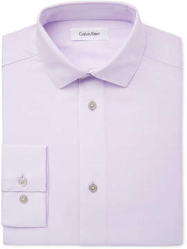 Calvin Klein Honeycomb Textured Dress Shirt, Big Boys (8-20)