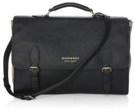 Burberry Ethan Leather Messenger Bag