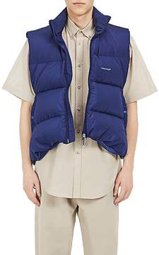 Balenciaga Men's C Curve Trapeze Puffer Vest
