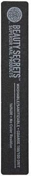 Beauty Secrets 100/100 Rectangular Black Cushion Nail File
