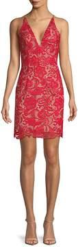 Dress the Population Women's Marie Floral Lace Dress