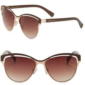 Sam Edelman 57MM Square Sunglasses