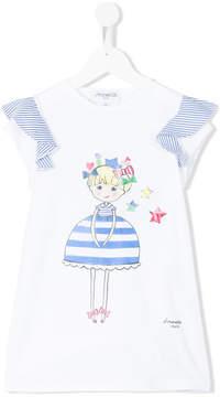 Simonetta doll print T-shirt