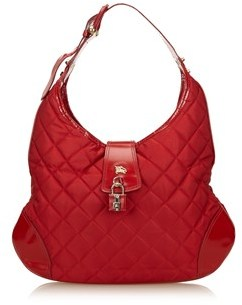 Burberry Pre-owned: Canvas Shoulder Bag. - RED - STYLE