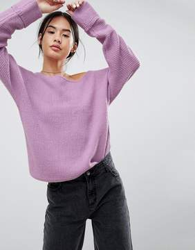Noisy May Off The Shoulder Sweater