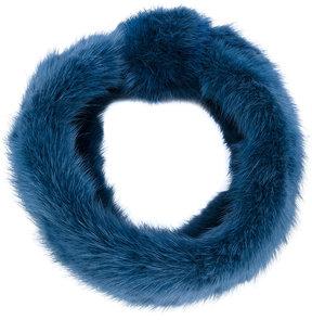 Yves Salomon headband hat