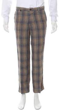 Mason Cropped Linen Pants
