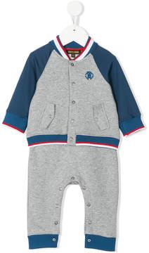 Roberto Cavalli color block track suit