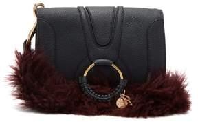 See by Chloe Hana Small Leather Cross Body Bag - Womens - Navy Multi