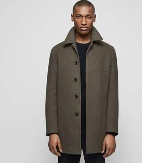 Reiss LANCECROFT Wool-blend overcoat