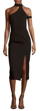 Finders Keepers Solid Asymmetric Dress