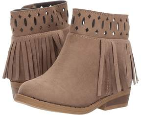 Baby Deer First Steps Fringe Boot with Cut Outs Girl's Shoes