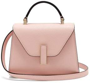 Valextra Iside Micro Grained Leather Bag - Womens - Light Pink