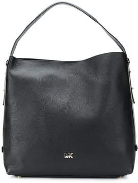 MICHAEL Michael Kors Griffin Leather Hobo Bag