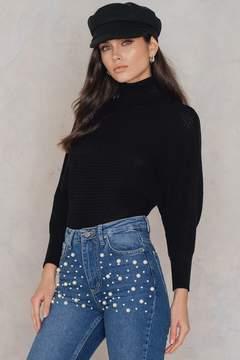 NA-KD Na Kd Folded Knitted Sweater