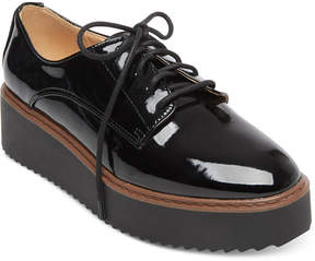 Madden-Girl Written Platform Oxfords