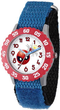Marvel Emoji Boys Blue Strap Watch-Wma000095