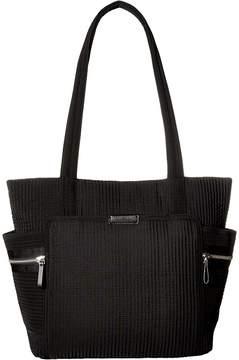 Vera Bradley Iconic Deluxe Small Vera Tote Tote Handbags - CLASSIC BLACK - STYLE