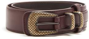 Bottega Veneta Layered leather belt