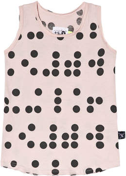 Nununu Powder Pink Braille Tank Top