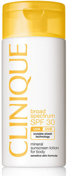 Clinique Mineral Sunscreen Lotion for Body Broad Spectrum SPF 30, 4.2 oz.