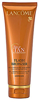 Lancome Tinted Self-Tanning Flash Bronzer Leg Gel with Pure Vitamin E