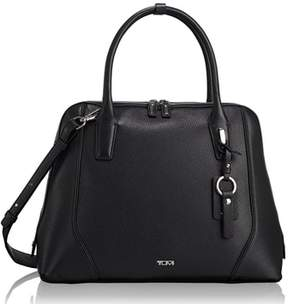 Tumi Stanton Janet Leather Dome Satchel Briefcase