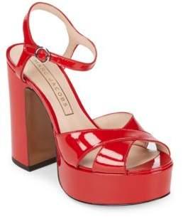 Marc Jacobs Lust Patent Leather Platform Sandal