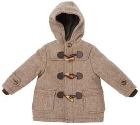 Marie Chantal Baby Boy Mini Duffle Coat - Chocolate